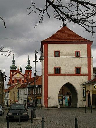 Brandýs nad Labem-Stará Boleslav - Image: Stara Boleslav