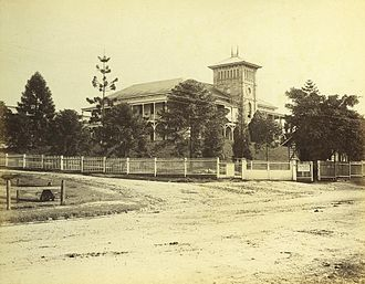 Department of Public Works (Queensland) - Brisbane General Hospital, circa 1885