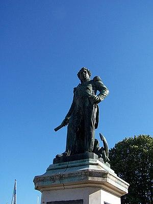 Guy-Victor Duperré - Statue of Duperré in La Rochelle