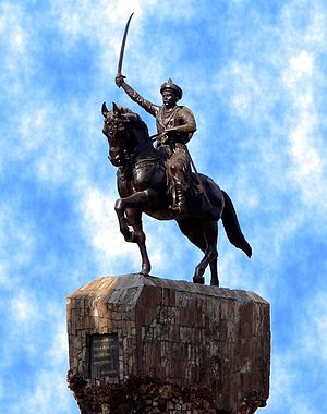 Chimaji Appa - Image: Statue of Chimaji Appa
