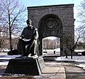 Statue of Nikola Tesla in Niagara Falls State Park adjusted.jpg