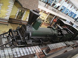 Steam locomotive. Transport Museum, Budapešť 1303.jpg