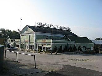 Stearns, Kentucky - Stearns in 2010