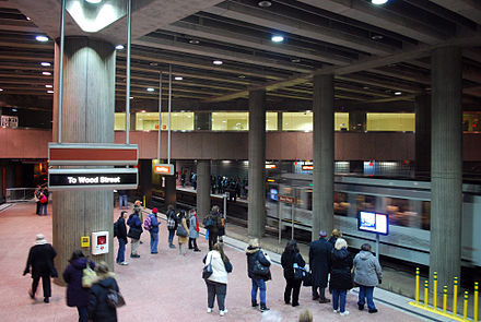 The Steel Plaza subway station Steel Plaza Subway Station.JPG