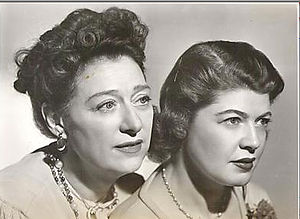 Our Gal Sunday - Anne Elstner and Vivian Smolner