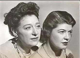 Stella Dallas (radio series) - Anne Elstner and Vivian Smolen