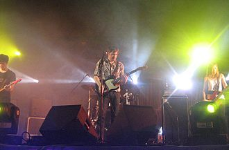 Shawn Christensen - Christensen performing in Mexico City, Mexico in April 2008