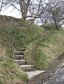 Steps to Pickering Castle - geograph.org.uk - 1778040.jpg
