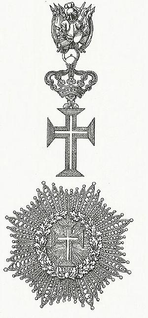 Supreme Order of Christ - Image: Ster en kleinood van de Orde van Christus (Heilige Stoel)