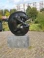 Stier FonsBemelmans Utrecht Park Gagel.JPG