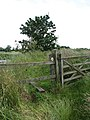 Stile on footpath - geograph.org.uk - 864134.jpg