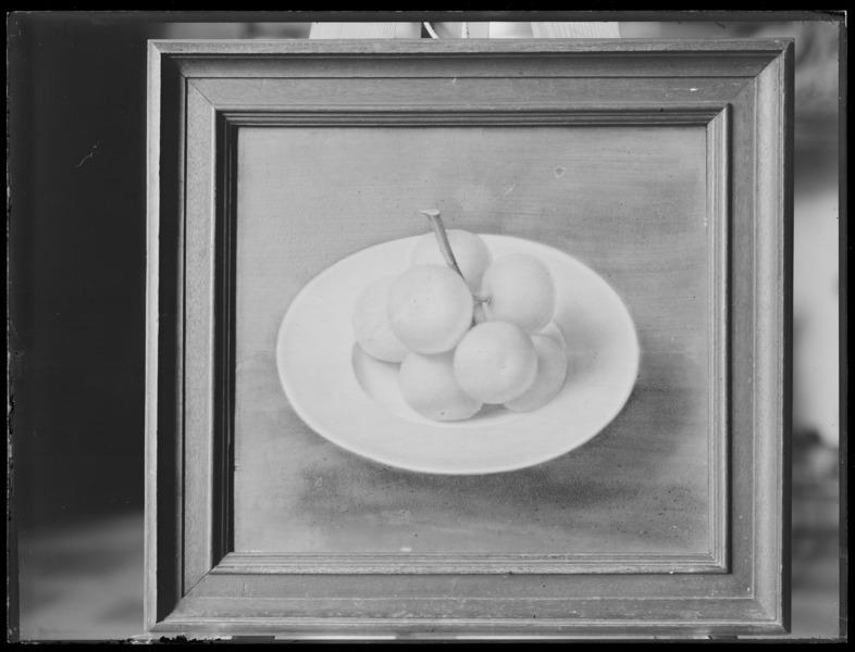 File:Stilleben. Oljemålning på pannå - Livrustkammaren - 43062.tif