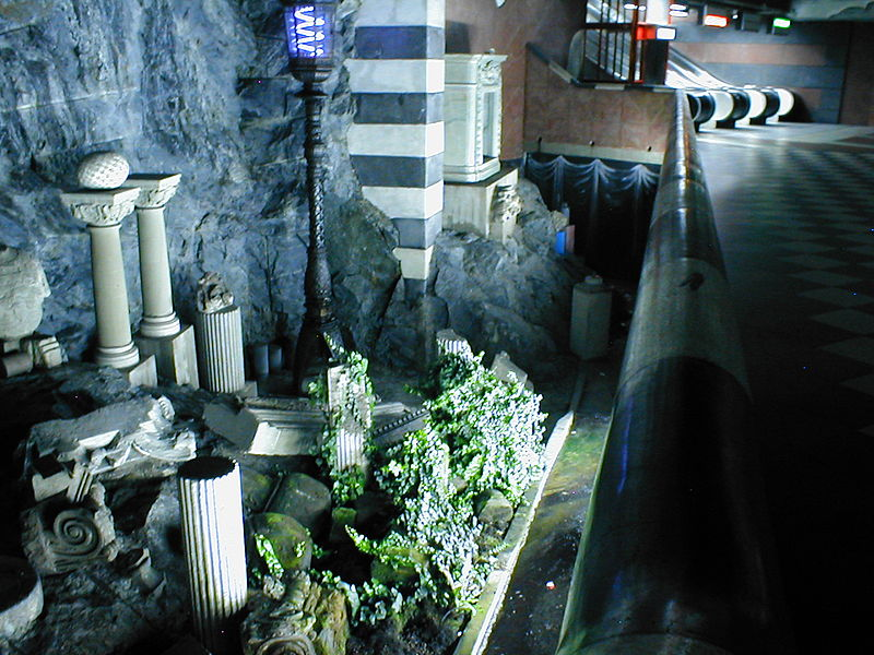 Archivo: Stockholm Tunnelbana Kungstradsgarden.jpg