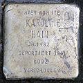 Stolperstein-Karoline Hain-koeln-cc-by-denis-apel.jpg