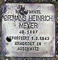 Stolperstein Bornepfad 4 (Hermd) Hans Heinrich Meyer.jpg