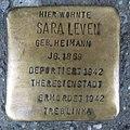 Stolperstein Düren Hohenzollernstraße 13 Sara Leven.JPG