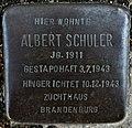 Stolperstein Göppingen, Albert Schuler.jpg