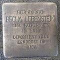 Stolperstein Issum Kapellener Straße 5 Recha Lebenstein.jpg