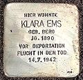 Stolperstein Klara Ems.jpg