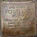 Stolperstein Richard Löwi Uferstraße 13 0096.JPG