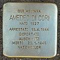 Stolperstein für Amedeo di Cori (Rom).jpg