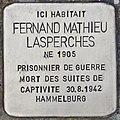 Stolperstein für Fernand Mathieu Lasperches (La Brede).jpg