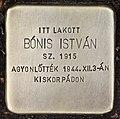 Stolperstein für Istvan Bonis (Nyíregyháza).jpg