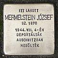 Stolperstein für József Mermelstein.jpg