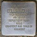 Stolpersteine Köln, Selma Wolff (Im Weichserhof 8).jpg