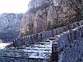 Stone bridge at Mt Gamila - Tymfi.jpg