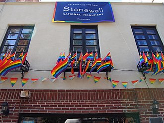 Stonewall National Monument Stonewall Inn 8 pride weekend 2016.jpg