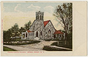 Stony Point, New York - Stony Point Presbyterian Church, built 1904