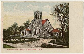 Stony Point, New York - Stony Point Presbyterian Church, built 1904
