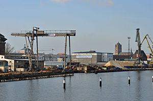 Stralsund, Hafen, 5 (2012-01-26) by Klugschnacker in Wikipedia.jpg
