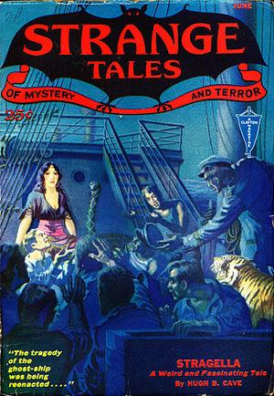 Hugh B. Cave - Image: Strange tales 193206