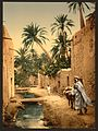 Street in the old town, I, Biskra, Algeria-LCCN2001697849.jpg