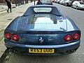 Streetcarl Ferrari 360 modena spyder blue (6435547609).jpg