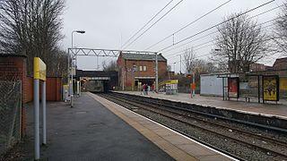 Stretford tram stop