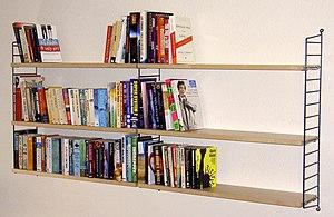 Nisse Strinning - String bookshelf