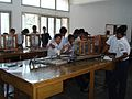 Students of Udayan in physics lab.jpg