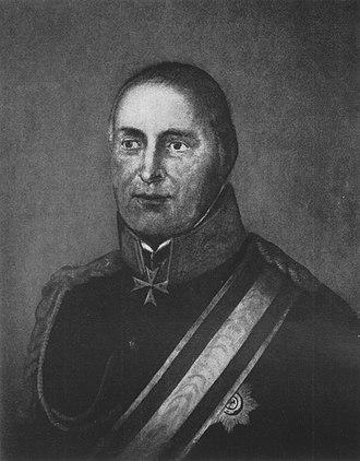 Ludwig August von Stutterheim - Image: Stutterheim, Ludwig August von (1750 1826)