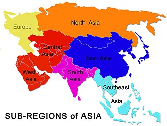 North West Asia Map.Culture Of Asia Wikipedia