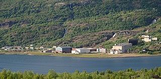 Sulitjelma Village in Northern Norway, Norway