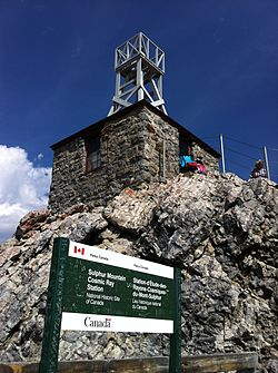 Sulphur Mountain Weather Station.JPG