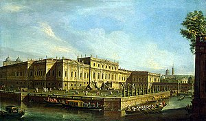 Summer Palace (Rastrelli) - The Summer Palace of Elizaveta Petrovna in 1756.