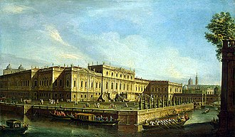 Petrine Baroque - The Summer Palace at St. Petersburg, From the Dutch Baroque style