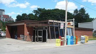 Summerhill, Toronto - Entrance to Summerhill station