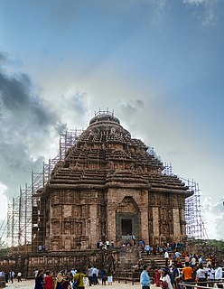 Konark Sun Temple 13th century Surya Temple and UNESCO world heritage site in Odisha, India