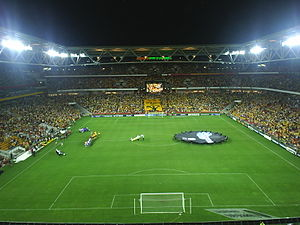 2008 Rugby League World Cup Final - Lang Park in Brisbane hosted the World Cup Final
