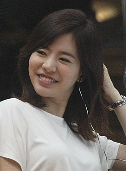 Sunny in FM Date radio studio, 13 August 2014.jpg